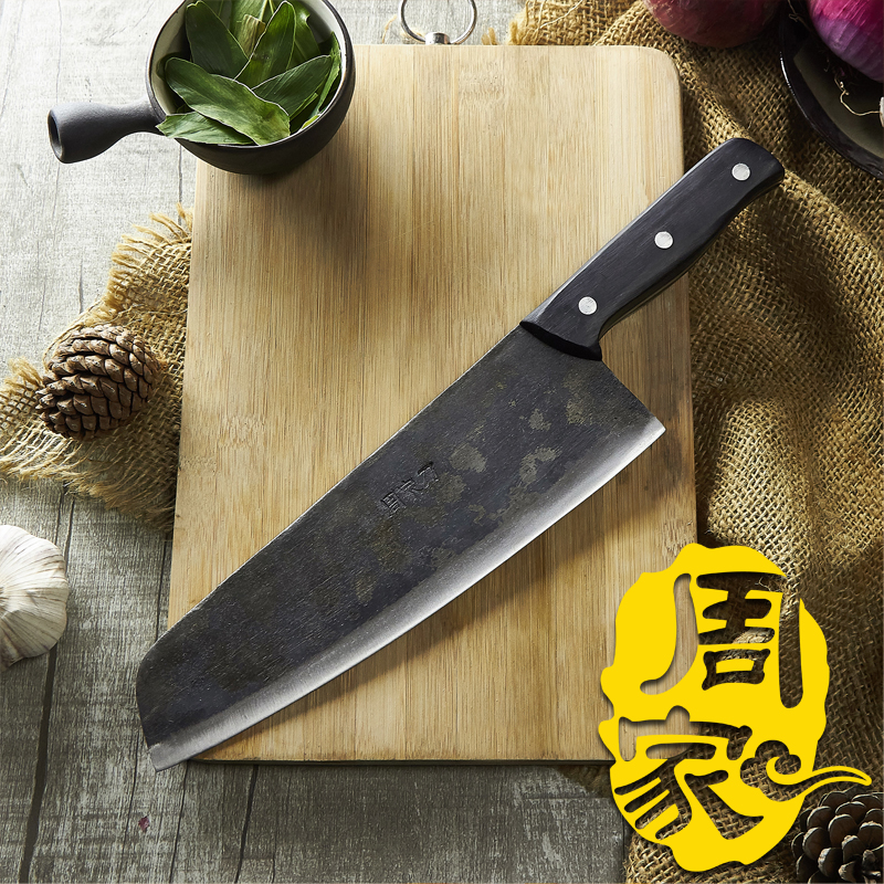 Free Shipping ZHOU Handmade Peeling Meat Fish Knife Cleaver Slicing Knife Split Meat Butcher Knife Eviscerate