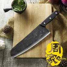 Freies Verschiffen ZHOU Handgemachte Peeling Fleisch Fisch Messer Cleaver Fleischmesser Split Fleisch Butcher Messer Eviscerate Knochen Küchenmesser