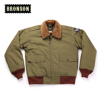mans short design US air force B10 cotton wool jacket