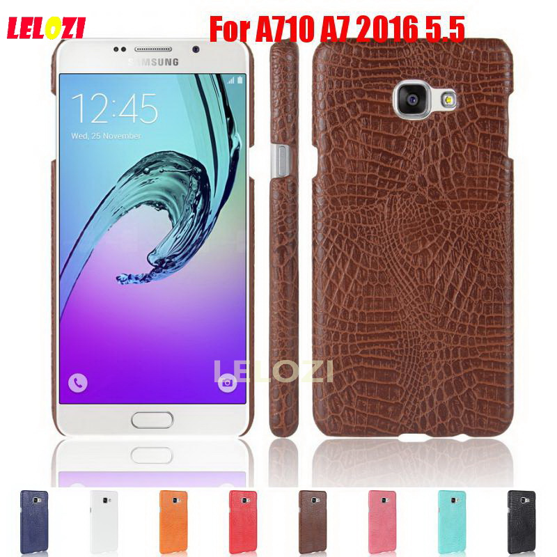 LELOZI Crocodile Snake Pattern Hard PC ladies Plastic PU Leather Phone Etui Coque Case F ...