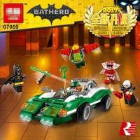 282pcs Super Heroes Batman Racing Ultimate Collectors Model Building Block Toys Bricks for children