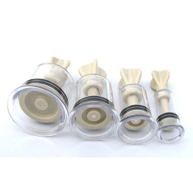 nipple clamps sex toys bdsm sucker breast pump suction Cup therapy vacuum pump breast bondage clip simulator enhanceer vibrating 4