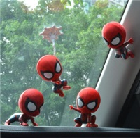 Car Ornament Auto Interior Decoration Shaking Head Doll Car Accessories Car Dashboard Decoration Big Hero Doll