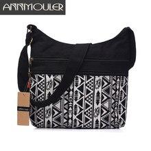 2a1468e54 Annmouler Mulheres Tecido de Algodão Bolsa de Ombro Hobo Bag Chic Hippie  Gypsy Bohemian Folk Asteca