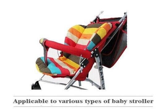 Baumwolle Atmungsaktive Wasserdichte Urin Kinderwagen/kinderwagen/dach Auto/ Stuhl Universal Pad/regenbogen Farbe Bar PadMaterial: High Density Oxford  ...