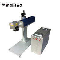 20W Portable Fiber Laser Engrave Machine In Italy