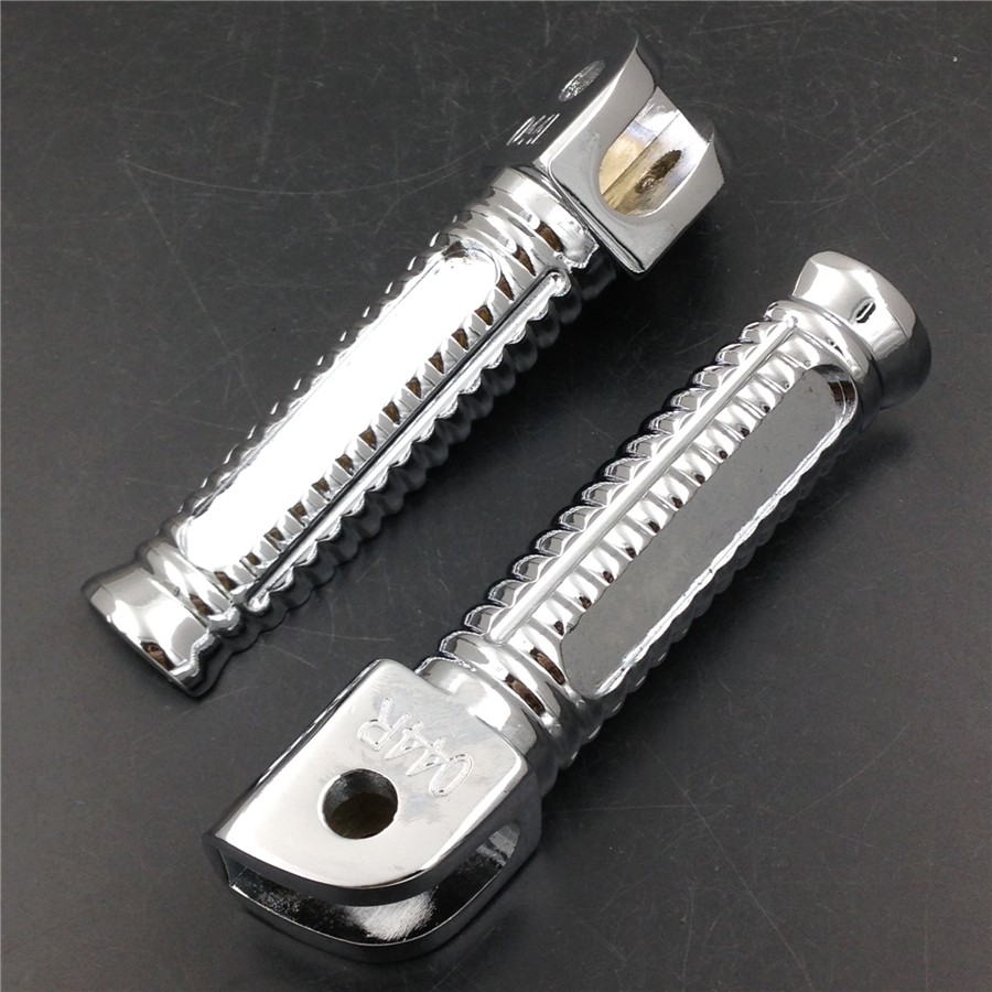Aftermarket free shipping motorcycle parts billet oem foot peg for suzuki 1999 2007 gsx 1300r