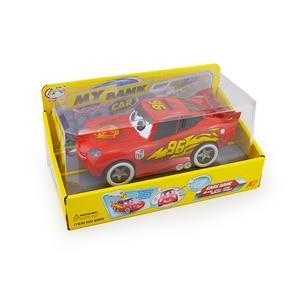 Image 5 - Cartoon cute red Car Piggy Bank Kids Toy Money Box Saving Deposit Boxes Electronic Enfant Children Cash Coin Safe car