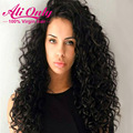 Full Lace Wig Lace Front With Baby Hair 7a Brazilian Virgin Hair Deep Curly Lace Wig Full Lace Human Hair Wigs For Black Women