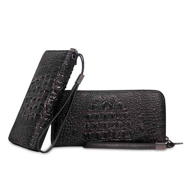 PU Alligator Men Messenger Bags Woman Wallets Luxury Wallet Female Purse Passport Crossbody Bags Waterproof Suitcase Case