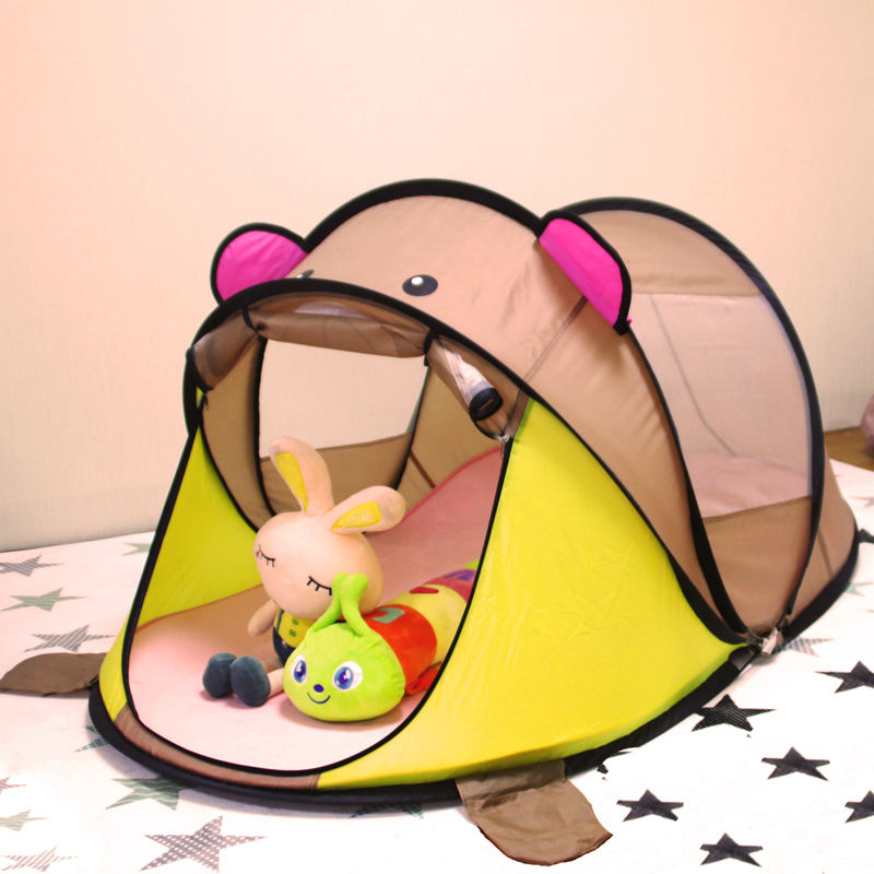 Enfants de tente intérieure jouet d'extérieur maison de jeu fold grande maison tente d'enfants jouets pour enfants boule de l'océan pit piscine enfants maison tente