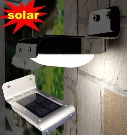 16 LED Solar Power Bevægelsessensor Have Sikkerhedslampe Udendørs Vandtæt væg Lights led lamper Til Home Garden Outdoor Hot