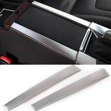 2 шт. автомобильный подстаканник подлокотник центральной подлокотник коробка отделкой для Volvo XC60 S60 S60L V60 2012- автомобиль Средства для укладки волос