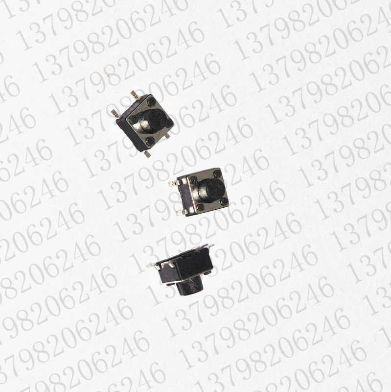Бесплатная доставка 200 шт/партия сенсорный кнопочный переключатель 6*6*6 мм переключатель smd 4 ножной переключатель/кнопочный переключатель