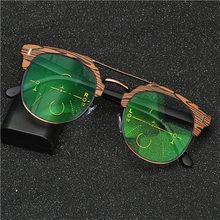 7a2a6e7bd7af3 Homens Óculos de Leitura de Qualidade lentes Progressivas 2017New Moda  Metade Quadrado óculos de Sol De Transição Photochromic Ó..