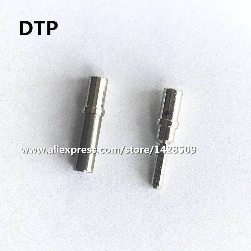 10 pcs 20 pcs DTP 0462-203-12141 0460-204-12141 14AWG para 12AWG Aço Inoxidável pin Conector do Terminal Automotivo Para Deutsch