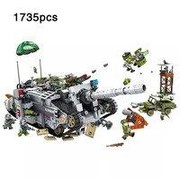 Армейская серия Германия Тяжелая ягдпантера выдворение Танк автомобиль строительные блоки игрушки для детей совместимый подарок legoinglys