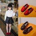 2016 nova primavera meninas sneakers princesa borla sapatos estudante sapatos de alta qualidade Coreano Inglaterra calçados infantis CS-092