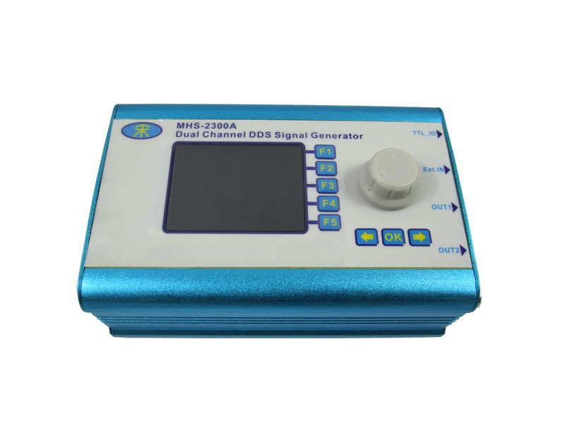 Digital Dual channel DDS Function Signal Generator MHS-2300A 5MHZ uni t utg9005a 5mhz dds universal waveform signal function generator