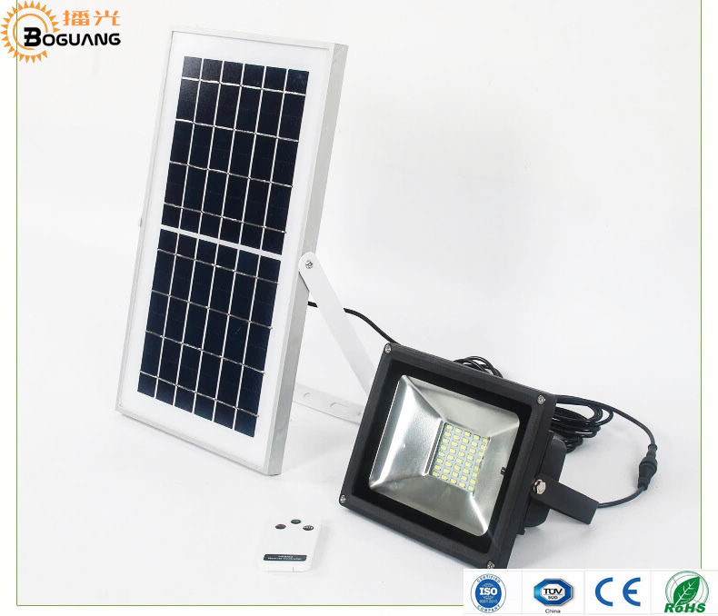 BOGUANG 10W 20W 30W 50W solar panel solar floodlight camp light Spotlight LED Wall Lamps for Garden Outdoor street illumination free shipping to oceania solar charged 10w led spotlight human body induction led wall light for public parks
