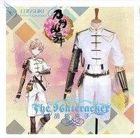 Newest High Quality Touken Ranbu Online Monoyoshi Sadamune Uniform Cosplay Costume Perfect Custom For You