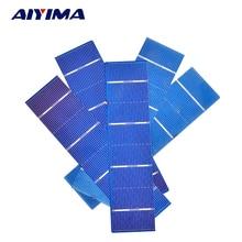 AIYIMA 50pcs 156x39mm Solar Panel polycrystalline Silicon Solar Cell DIY Solars Panel China Panneau Solaire 1.05W 0.5V