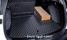 Negro Interior de Cuero Guarnecido del maletero Trasero de Arranque de Carga Pad Para Honda CRV CR-V 2017 2018