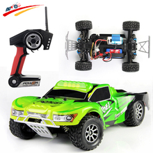 Rc автомобиль WLtoys a969 2.4 г 4WD 1:18 45 км/ч высокоскоростной внедорожных Радио Управление автомобиля гонки автомобиль электрического РТР игрушка