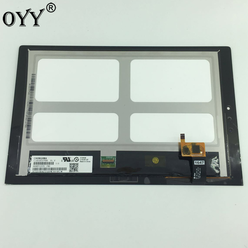 10.1 inch LCD display+Touch Digitizer Screen Assembly Replacement parts for Lenovo Yoga Tablet 2 1051 1051F 1051L for lenovo miix 2 8 tablet pc lcd display touch screen digitizer replacement with frame
