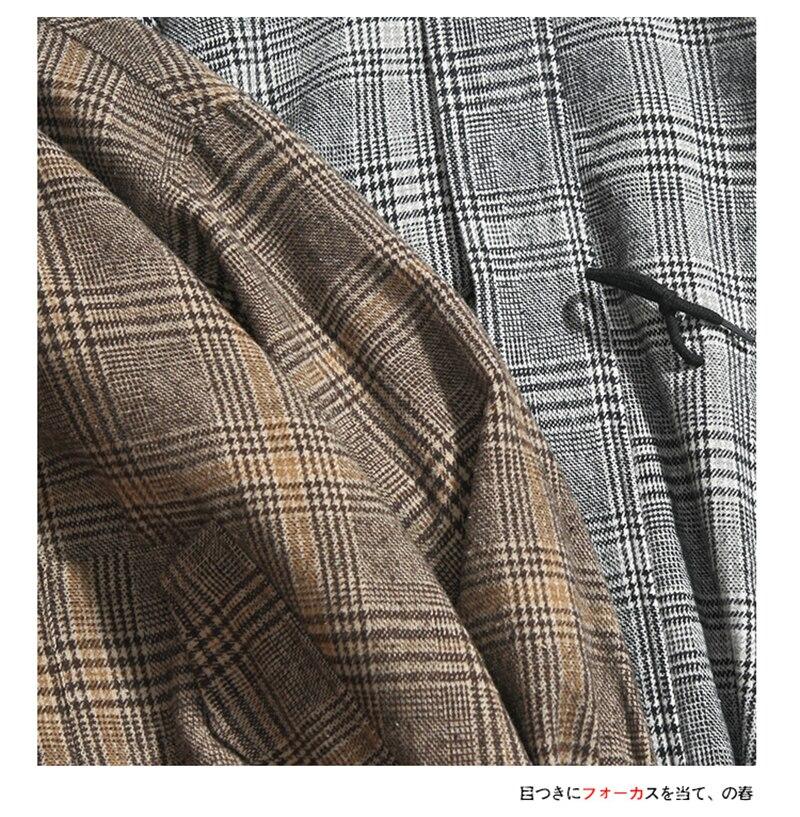 Male Long Coat Oversize Lapel Button Sobretodos Hombre Overcoat Streetwear (9)