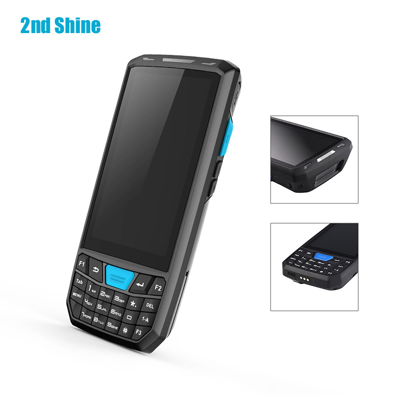 Mobile Computer Barcode Scanner Android PDF417 Code Reader APP Bluetooth Police Scanner with External NFC Reader GPS image