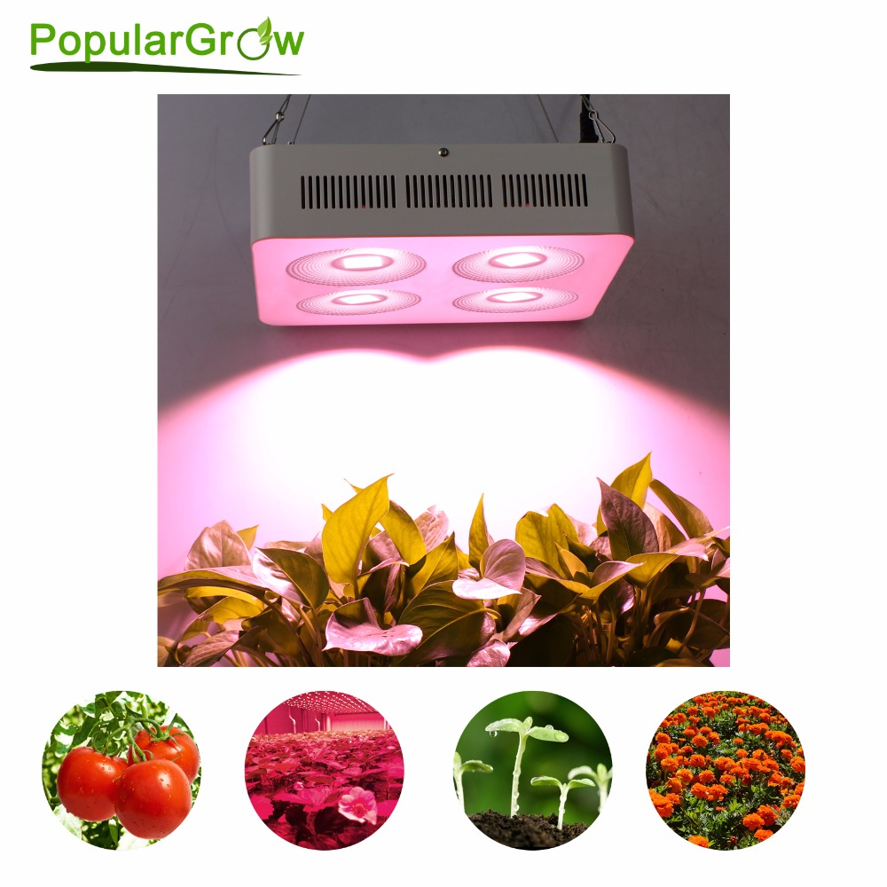Фото populargrow Newest designed led grow light 800W with COB Reflector Cup for grow tent/indoor greenhouse/Commercial hydro plants