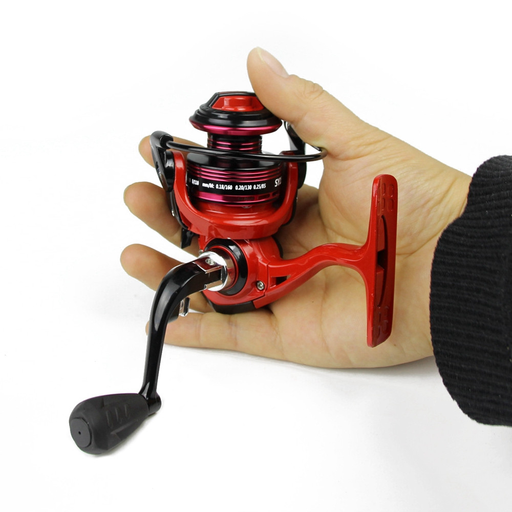 Best Cheap Mini fishing spinning reel bearing 5+1 BB winter ice carp sea spinning fishing reels china molinete para pesca  (12)