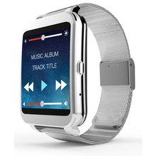 2016 HEIßE Ankunft WIFI Bluetooth Smart Uhr I95 4G ROM kamera Herzfrequenz Mp3-player Stahl Smartwatch Arbeit für IOS & Android telefon