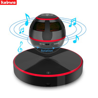 Levitating Bluetooth Speaker Portable Floating Wireless Speaker Bluetooth 4 0 360 Degree Rotation Built In Microphone