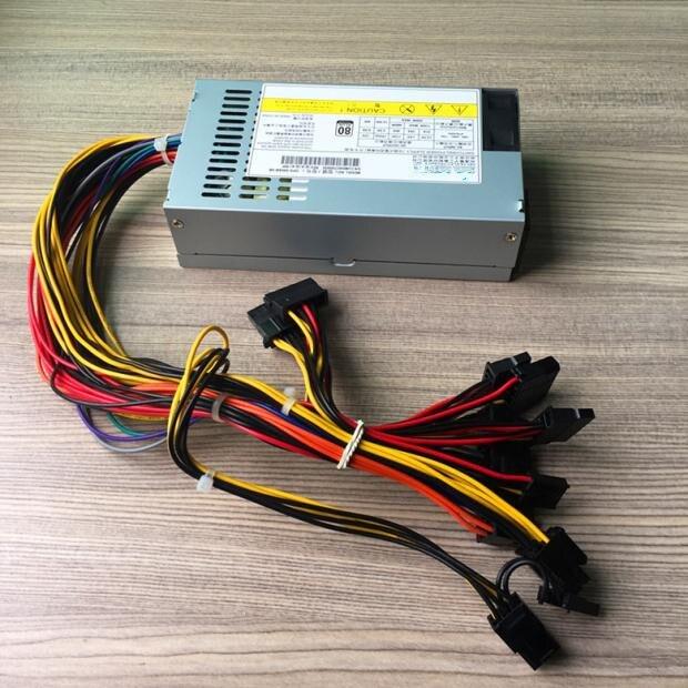 500W PC Power Supply For Desktop 500W PSU For Server 500W Small 1U ITX HTPC FLEX M1 K39 K49 M41 Small Chassis Power Supply 6/8P