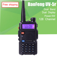 BAOFENG UV 5R Walkie Talkie Dual Band Radio 136 174Mhz 400 520Mhz Baofeng UV5R Handheld Two