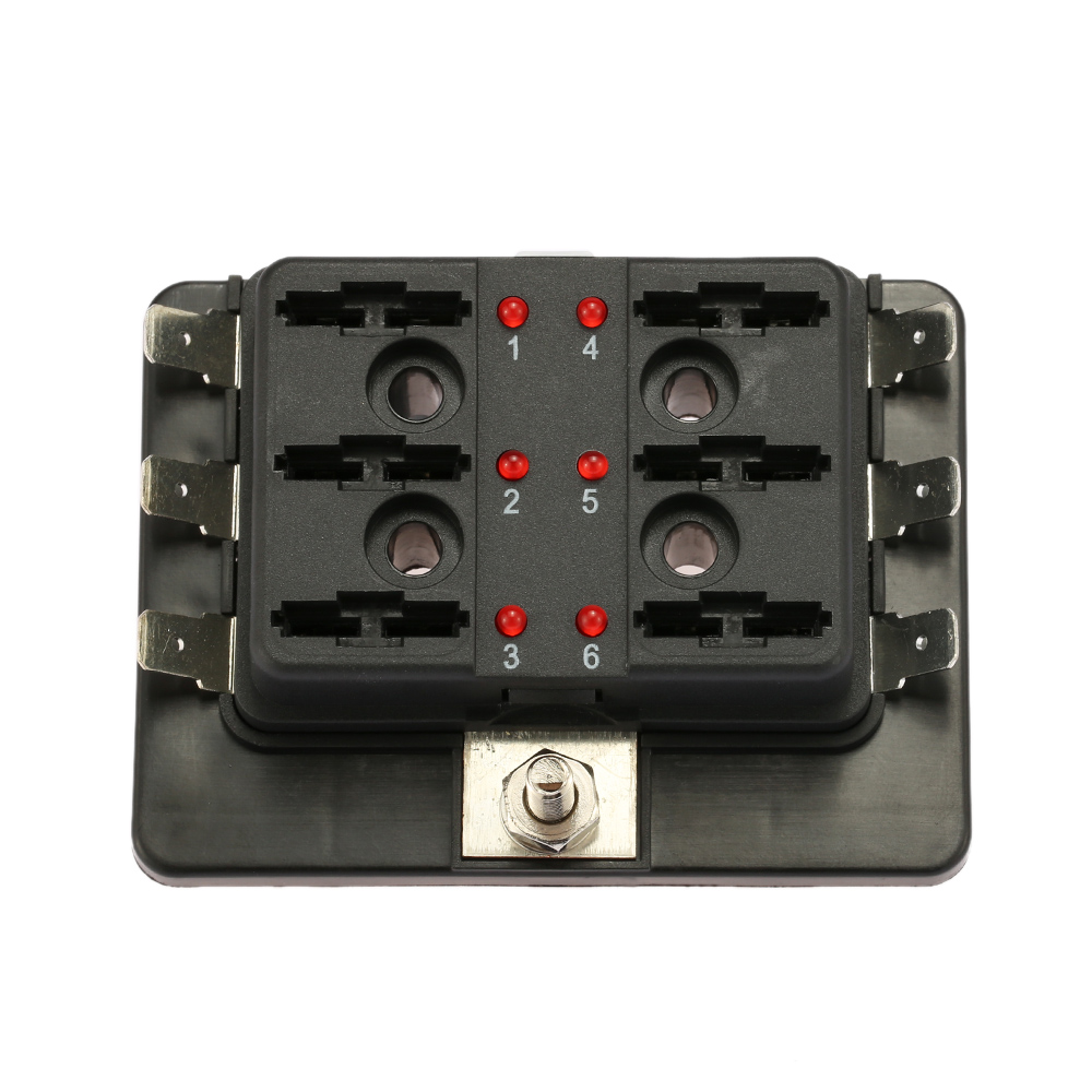 HTB1MT4NLXXXXXX1XpXXq6xXFXXXR aliexpress com buy kkmoon 6 way 12v 24v blade fuse box holder 6 way blade fuse box at suagrazia.org