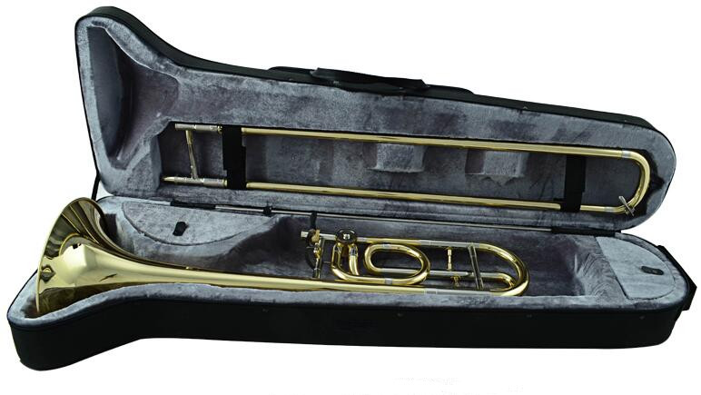 Bb Tenor Slide Trombone with Foambody case Brass Musical Instruments Shipping time 10-15 days