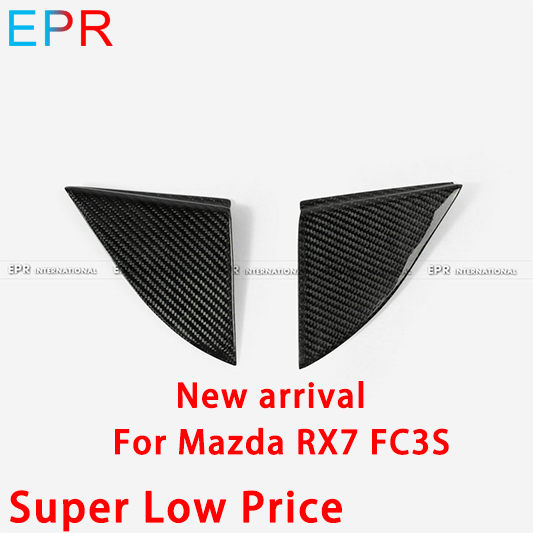 For Mazda RX7 FC3S Carbon Fiber Triangle|Interior Door Panels & Parts|Automobiles & Motorcycles - title=