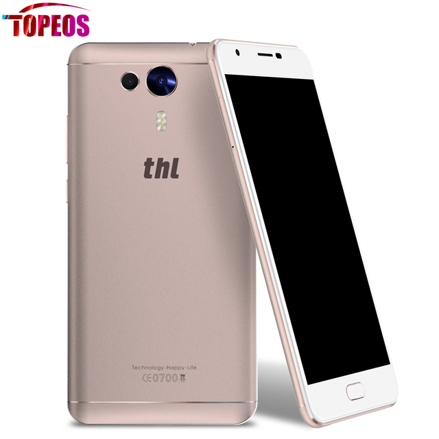 THL Knight 1 Android 7.0 MT6750T Octa Core 3GB RAM 32GB ROM Smartphone 5.5'' FHD Fingerprint ID 13MP Dual Camera OTG 4G Phone