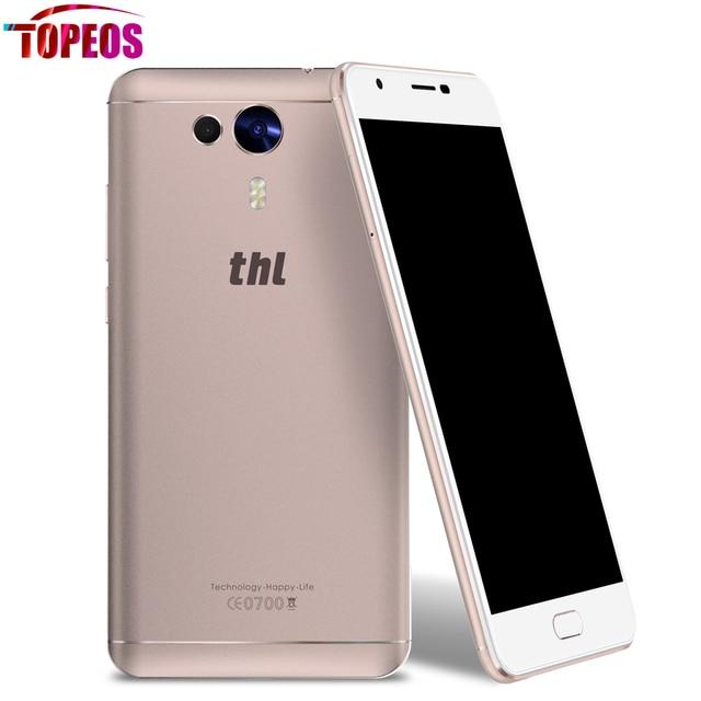 THL Knight 1 Android 7.0 MT6750T Octa Core 3GB RAM 32GB ROM Smartphone 5.5'' FHD Fingerprint ID 13MP Dual Camera OTG 4G Phone