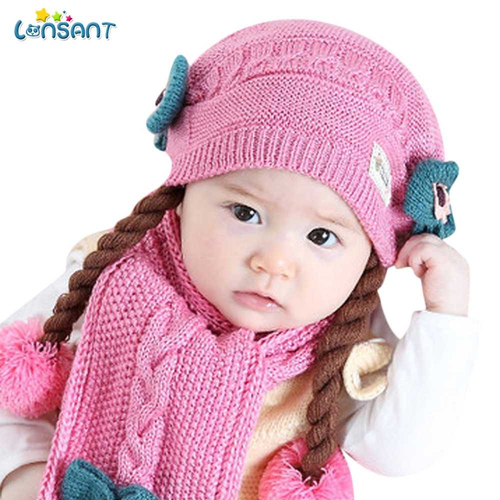 7ce749d786b Detail Feedback Questions About Lonsant Toddler Baby Girl Winter Hat