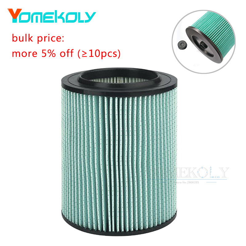 1PC Replacement Filter for Craftsman 9-17912 Wet Dry Vacuum Cleaner with High Efficiency Particle Air Filter Rated Material цена