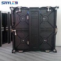 p4.81 indoor led screen rental screen die cast aluminum cabinet 500*500mm for indoor led display screen advertising billboard