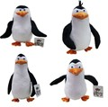 NEW 4 PCS/set 20-24cm Penguins of Madagascar plush toys stuffed Christmas gift doll Free Shipping