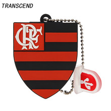 Computer Office - External Storage - Transcend World Cup Badge Football Team Pendrive Flash Drive USB2.0 4GB 8GB 16GB 32GB 64GB Notebook Disk Pendrive Free Shipping