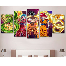 5 pçs/set, 5D Diy Diamante Pintura Dragon Balls, 3D Mosaico De Diamante quadrado Strass Completo do Ponto da Cruz Pinturas bordados(China)