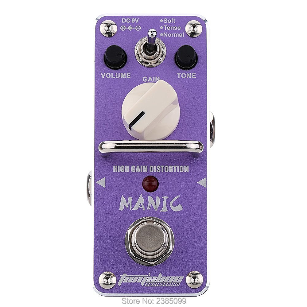 AROMA AMC-3 Manic High Gain Distortion Electric Guitar Effect Pedal Mini Single Effect with True Bypass звезда 12 декабрь 2014