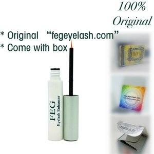 "Image 2 - המקורי FEG ריס Enhancer ""fegeyelash.com"" על חבילה 3ml FEG ריס צמיחת טיפול עפעף משפר סרום עפעף נוזל"